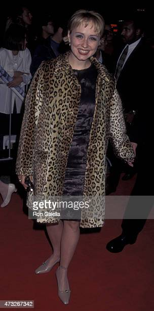 Nina Siemaszko attends the premiere of The American President on November 14 1995 at the Cineplex Odeon Cinema in Century City California