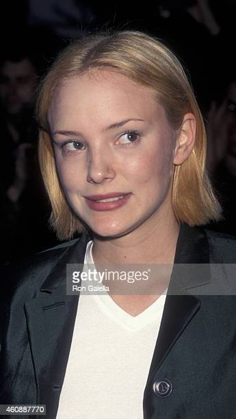 Nina Siemaszko attends the screening of The Object of My Affection on April 15 1998 at the City East Cinemas in New York City