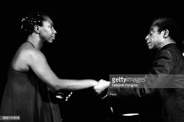 Nina Simone and James Baldwin