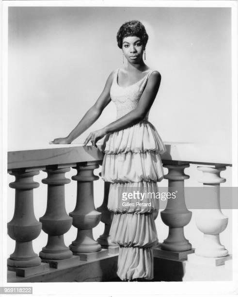 Nina Simone, studio portrait, 1962.