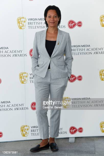 Nina Sosonya attends the Virgin Media British Academy Television Award 2020 at Television Centre on July 31 2020 in London England