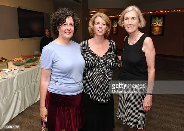 Nina Streich Rory Kennedy and Peggy Kerry during Coma New York City Premiere and Screening Presented by HBO Documentary Films at HBO Theater in New...
