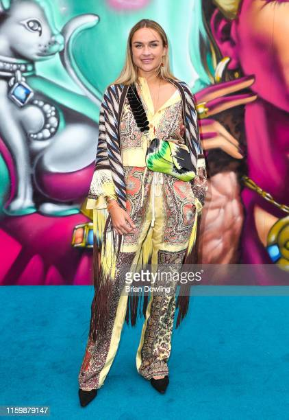 Nina Suess at the Thomas Sabo X Rita Ora press Cocktail at Stadtbad Oderberger on July 03 2019 in Berlin Germany