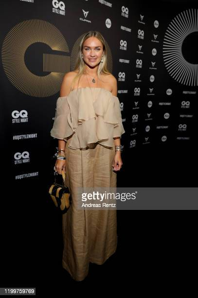 Nina Suess attends the GQ Style Night during Berlin Fashion Week Autumn/Winter 2020 at BRICKS Berlin on January 15, 2020 in Berlin, Germany.