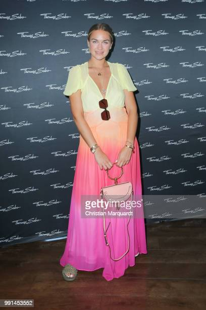 Nina Suess attends the Thomas Sabo Press Cocktail at China Club Berlin on July 4 2018 in Berlin Germany