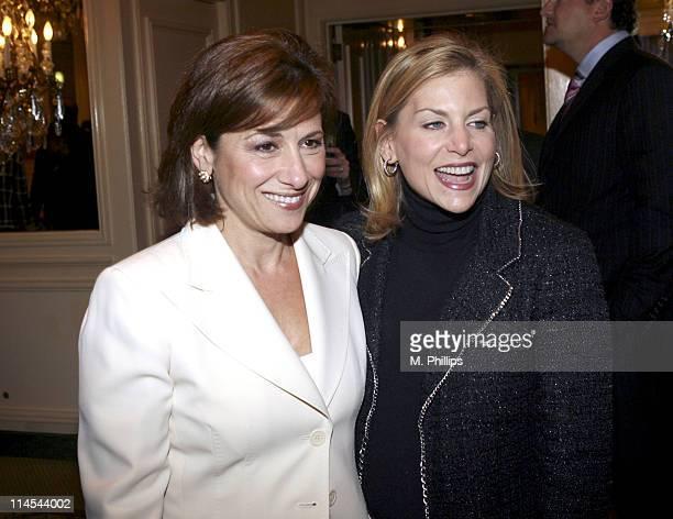 Nina Tassler president of CBS Entertainment and Dawn Ostroff President Entertainment The CW