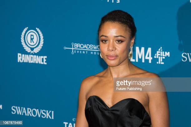 Nina Toussaint White attends the 21st British Independent Film Awards at Old Billingsgate in the City of London December 02 2018 in London United...