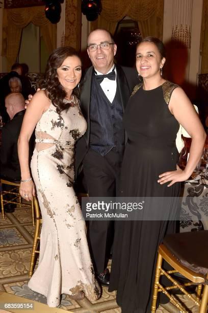 Nina Vaca Mark Zoradi Amanda Humrichouse attend the 2017 Carnaval Gala Celebrating TrailBlazing Latina Leaders Rita Moreno and Nina Vaca Hosted By...