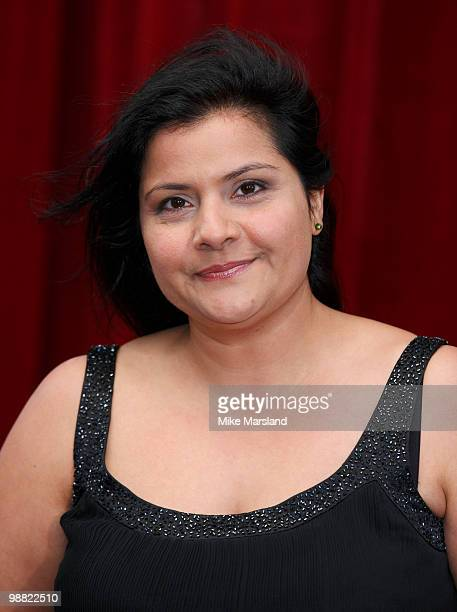 Nina Wadia attends 'An Audience With Michael Buble' at The London Studios on May 3, 2010 in London, England.