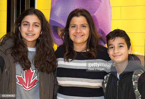 Nina Wadia attends The Lego Batman Movie Red Carpet Arrivals on January 28 2017 in London United Kingdom