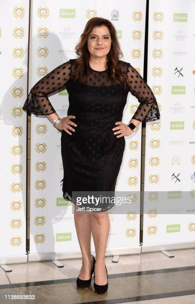 Nina Wadia attends the National Film Awards at Porchester Hall on March 27 2019 in London England