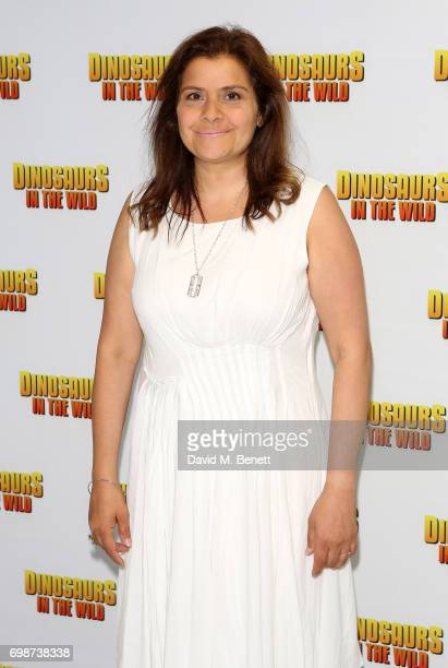 Nina Wadia attends the official launch of Dinosaurs in the Wild a new immersive experience at NEC Arena on June 20 2017 in Birmingham England