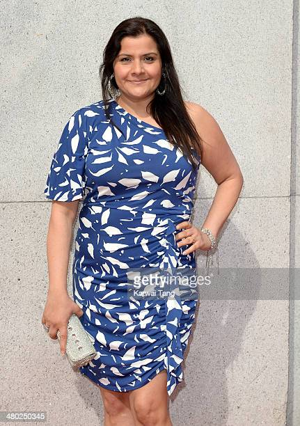 Nina Wadia attends the Tesco Mum of the Year awards at The Savoy Hotel on March 23 2014 in London England