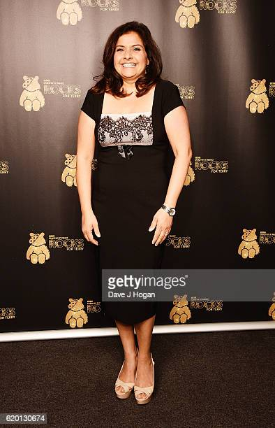 Nina Wadia supports BBC Children in Need Rocks for Terry at Royal Albert Hall on November 1 2016 in London England