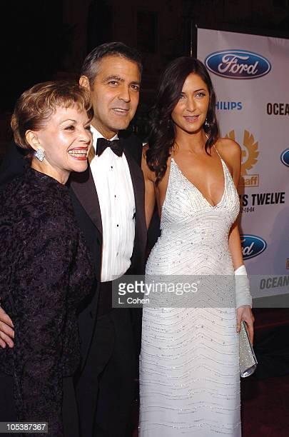 Nina Warren Clooney George Clooney and Lisa Snowdon