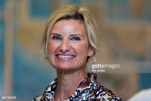 Nina WedellWedellsborg board member of the Magasin du Nord Foundation seen at the Magasin du Nord Fashion Prize 2017 award which goes to designer...