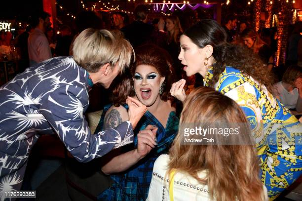 Nina West and Jackie Tohn attend Comedy Central's Emmy Party at Dream Hotel on September 21 2019 in Hollywood California