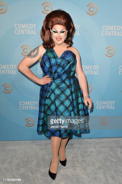 Nina West attends Comedy Central's Emmy Party at Dream Hotel on September 21 2019 in Hollywood California