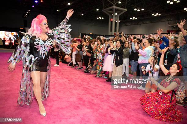 Nina West attends RuPaul's DragCon 2019 at The Jacob K Javits Convention Center on September 07 2019 in New York City