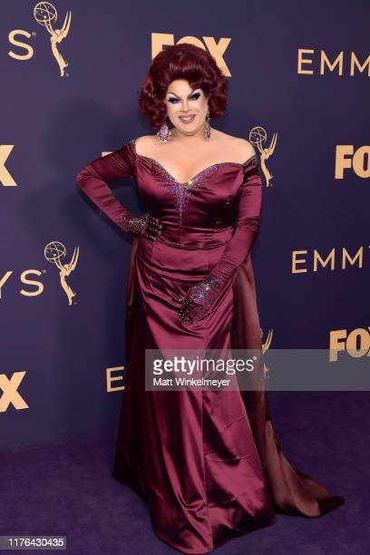 Nina West attends the 71st Emmy Awards at Microsoft Theater on September 22 2019 in Los Angeles California