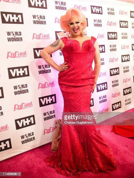 Nina West attends the RuPaul's Drag Race Season 11 Finale Taping at Orpheum Theatre on May 13 2019 in Los Angeles California