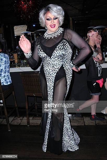 Nina West attends 'Why Drag' book launch at The Abbey on May 9 2016 in West Hollywood California