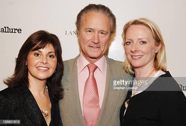 Nina White, Senior VP of Marketing for Lancome, Dr. Dan Baker, and Linda Wells, Allure Magazine Editor-in-Chief
