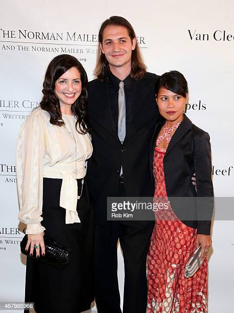 Nina Wiener Schiller Roman Blat and Marie Estrada at the Sixth Annual Norman Mailer Center and Writers Colony Benefit Gala Honoring Don DeLillo Billy...