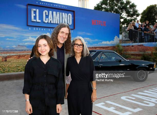 Nina Yankovic Weird Al Yankovic and Suzanne Yankovic attend the World Premiere of El Camino A Breaking Bad Movie at the Regency Village on October 07...