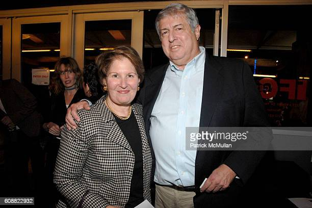 Nina Zagat and Tim Zagat attend A TABLE IN HEAVEN Screening Afterparty A Film By Andrew Rossi About Le Cirque Founder SIRIO MACCIONI Family at IFC...