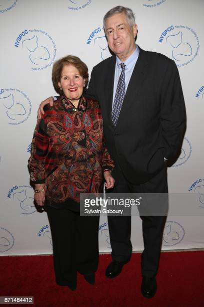 Nina Zagat and Tim Zagat attend The New York Society for the Prevention of Cruelty to Children 2017 Food Wine Gala on November 7 2017 in New York City