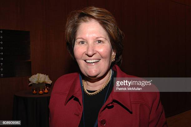 Nina Zagat attends Time Warner's Conversations On The Circle with Time Warner's CEO DICK PARSONS and SENATOR JOHN EDWARDS at Time Warner Headquarters...