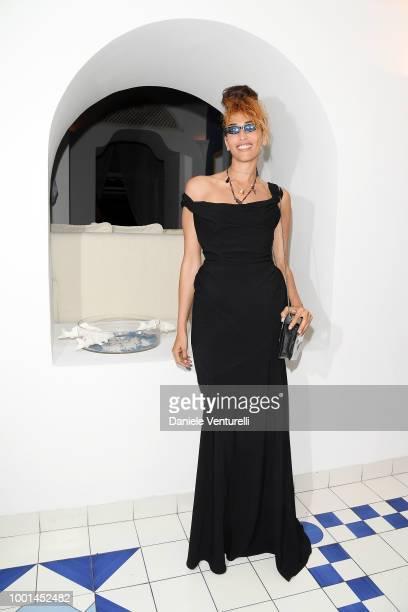 Nina Zilli attends 2018 Ischia Global Film Music Fest on July 18 2018 in Ischia Italy