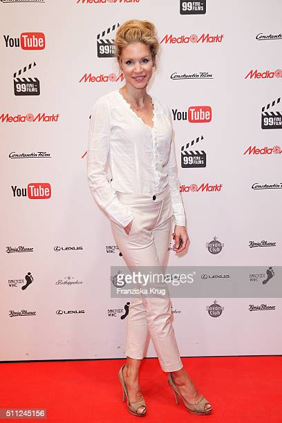 Nina-Friederike Gnaedig attends the 99Fire-Film-Award 2016 at Admiralspalast on February 18, 2016 in Berlin, Germany.
