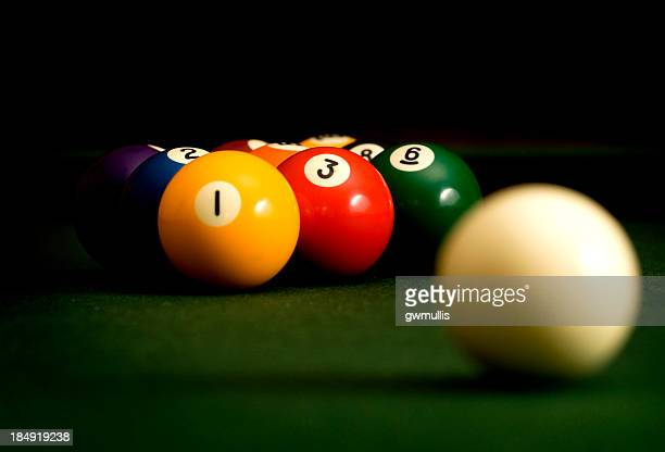 nine ball - number 9 stock pictures, royalty-free photos & images