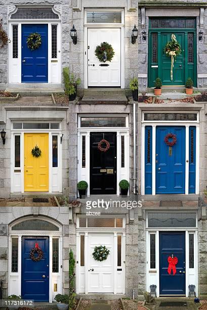 Nine Christmas Doors