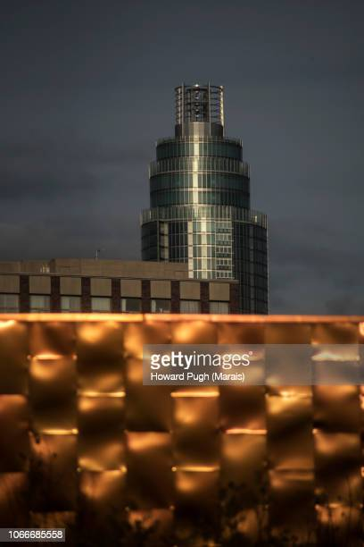 Nine Elms Abstract Architecture