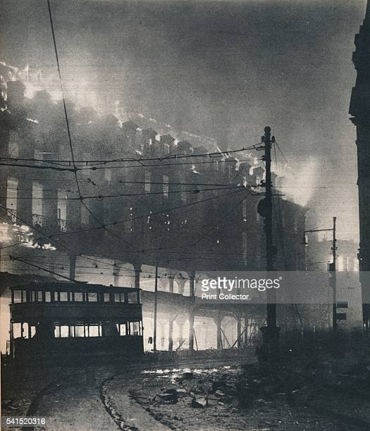 Nine Hours of Bombing When Sheffield's turn came it was midwinter' 1940 A department store on Sheffield High Street 12th December 1940 The Sheffield...