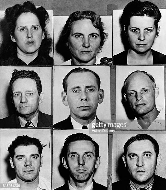 Nine of the twenty nine people held in custody for alleged espionage in the USA The director of the FBI J Edgar Hoover described the arrests as the...