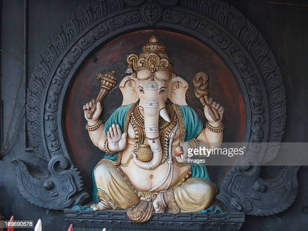 nine planets temple - ganesha stock photos and pictures
