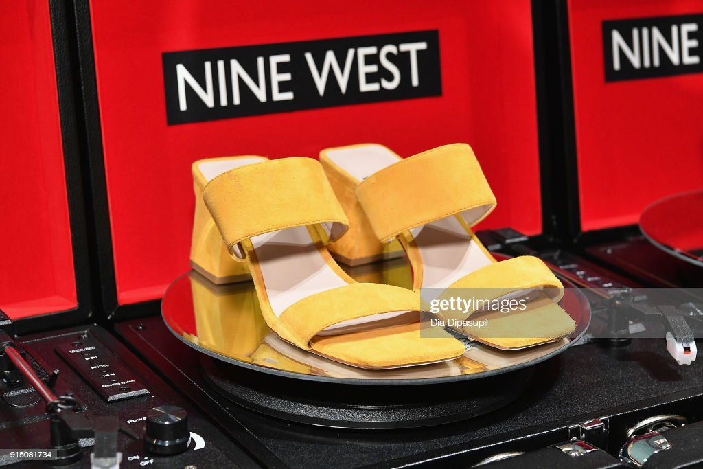 Nine West shoes on display during the Nine West Throwback