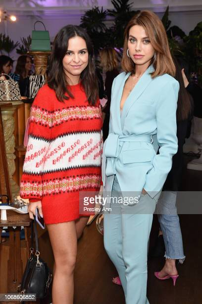 Ninel and Annabelle Fleur attend the BY FAR Party hosted by HAIM and Maya Rudolph at Chateau Marmont on December 4 2018 in Los Angeles California