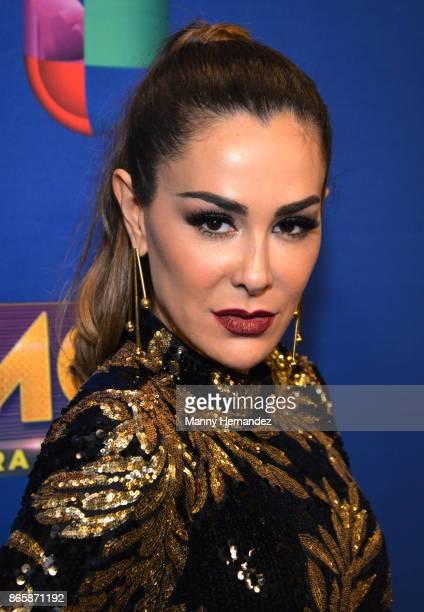Ninel Conde at Mira Quien Baila Week 6 at Univision Studios on October 22 2017 in Miami Florida
