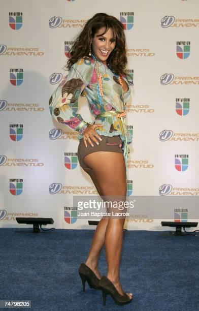 Ninel Conde at the University of Miami BankUnited Center in Miami Florida