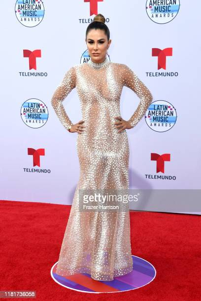 Ninel Conde attends the 2019 Latin American Music Awards at Dolby Theatre on October 17 2019 in Hollywood California