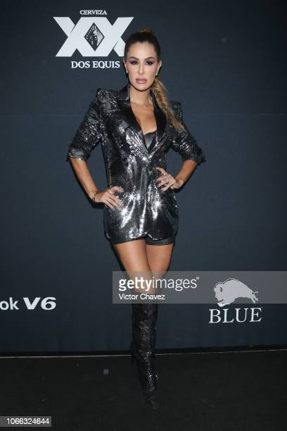 Ninel Conde attends the 8th anniversary of EstiloDF at Foro Masaryk on November 28 2018 in Mexico City Mexico