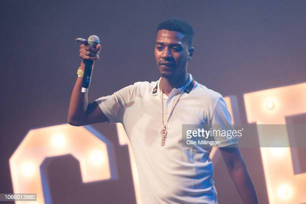 Nines performs onstage during the different cloth part II tour at O2 Forum Kentish Town on November 27, 2018 in London, England.