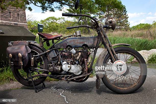 Nineteen fifteen Vintage Harley Davidson with all original parts