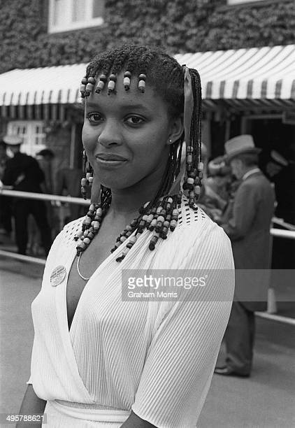 Nineteen yearold Enola Griffith of Reading at the Royal Ascot race meeting 18th June 1980