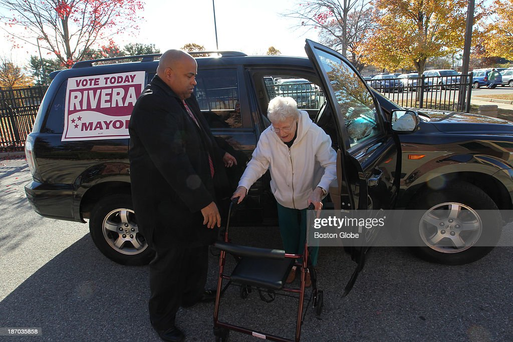 Election Day 2013 : News Photo